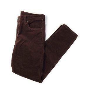 Stitch Fix Edyson Raisin Skinny Cords Jeans NWT